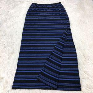 Splendid Striped Maxi Skirt
